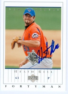Autograph Warehouse 25374 Heath Bell Autographed Baseball...