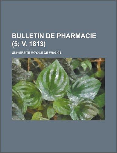 En ligne Bulletin de Pharmacie (5; V. 1813) pdf