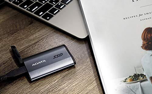 ADATA SE730H 1TB USB 3.1 Gen 2 Type-C Waterproof Shockproof Portable External Solid State Drive Grey (ASE730H-1TU31-CTI) by ADATA (Image #5)