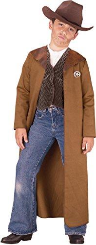 (Childs Boy's Wild West Cowboy Sheriff Gunslinger Outlaw Costume Medium)