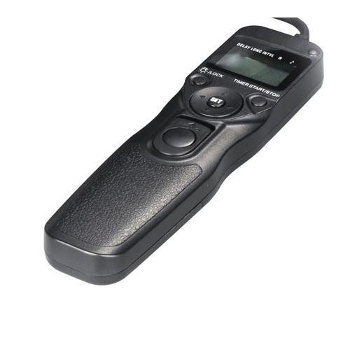 Bower LCD Timer & Remote Shutter Release for Canon Rebel/350D/450/500/1000/30/50/60, Pentax K110D/200/10/20/DS/DL, Samsung GX10/20 (RCLC1R) by Bower