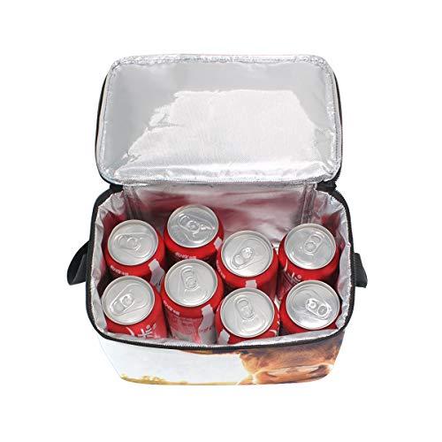 nique vaches pique du lunch Bandoulière lunch à le Sac Cooler pour pré Happy Boîte coucher soleil à sur au q1x6tO