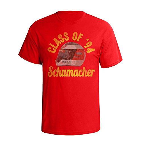 (Michael Schumacher Mens Motor Racing Legend T-Shirt [Apparel])