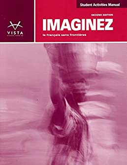 imaginez 2nd ed student activities manual answer key and ss plus rh amazon com