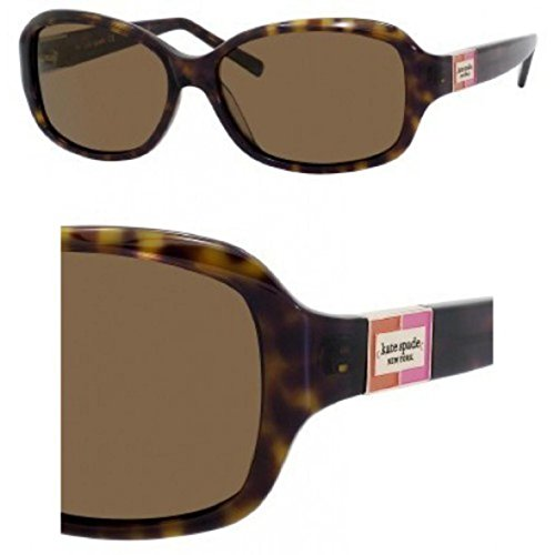 Sunglasses Kate Spade Annika/S 086P Tortoise / VW brown polarized - Spade Sunglasses 130 Kate