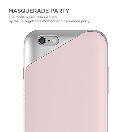 interne: L: Mascarade Coque pour Apple iPhone 6/6S-Souple-Rose