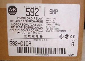 in Box Allen Bradley Overload Relay 592-C1DA 0.7-2.5 amp SMP-3 Solid State