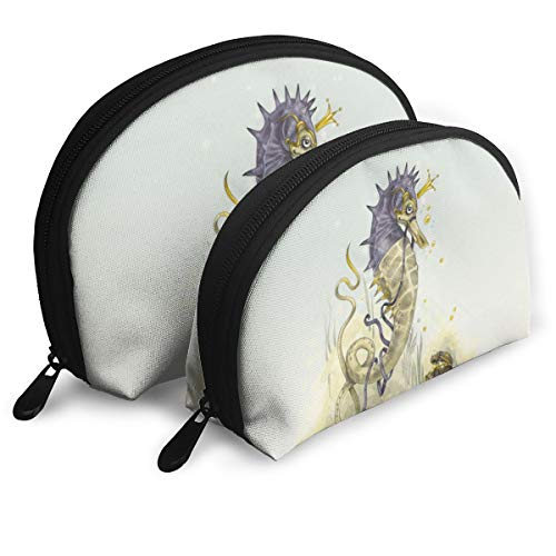 - Child Goods Cute Seahorse Multi-Functional Portable Bags Clutch Pouch
