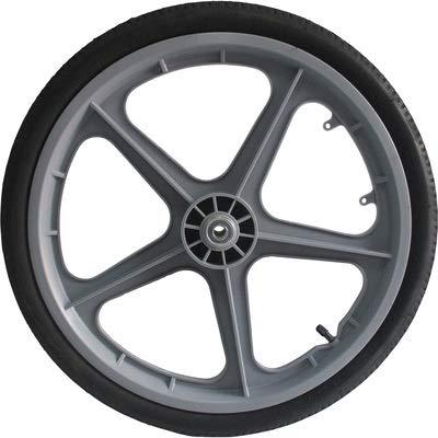 Ironton 20in. Pneumatic Plastic Spoked Wheel