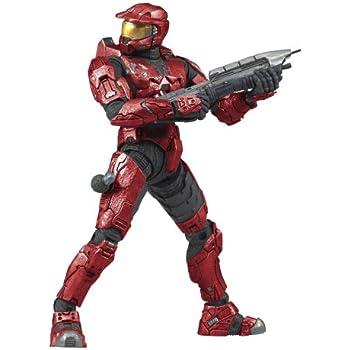 Halo 3 Series 1 - Spartan Soldier Mark VI Armor (Red)