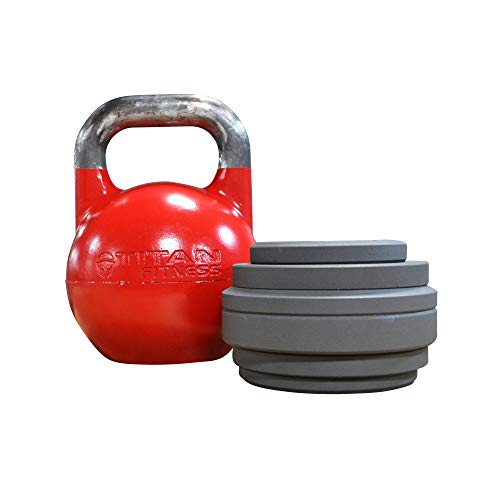 Titan Adjustable Competition Style Kettlebell | 12 KG - 32 KG (Competition Kettlebell 12 Kg)