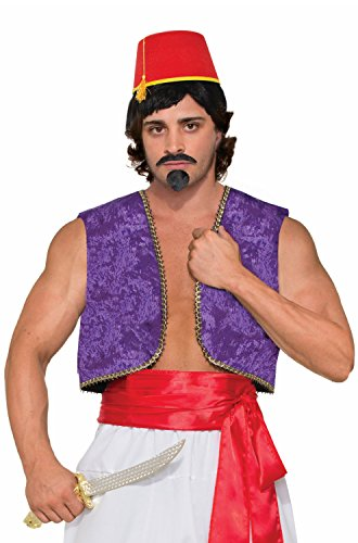 Forum Novelties Genie Vest Adult Costume (Purple)-