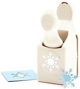 Martha stewart crafts punch arctic snowflake for Snowflake template martha stewart
