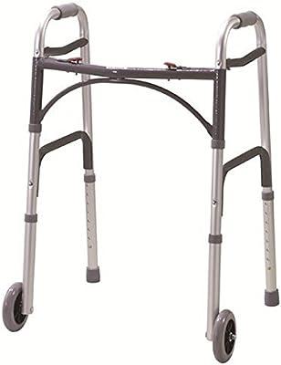 Plegable ligero Andador con ruedas andador