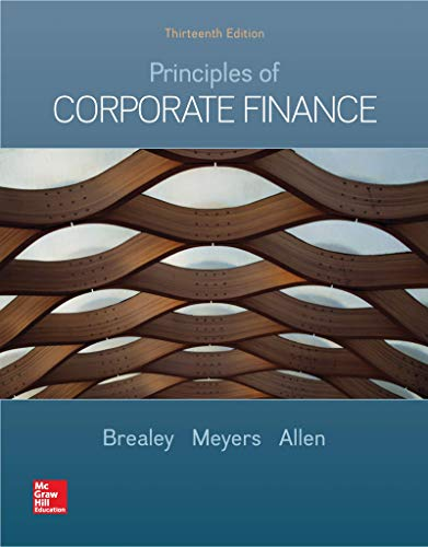 Loose-leaf  for Principles of Corporate Finance