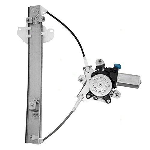 Regulator Hyundai Elantra Power Window (Drivers Rear Power Window Lift Regulator with Motor Assembly Replacement for Hyundai 9881029000)