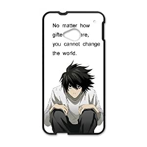 Death Note 005 HTC One M7 Cell Phone Case Black TPU Phone Case RV_530903