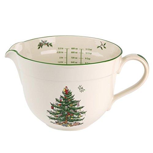Spode China Christmas Tree (Spode Christmas Tree Batter Jug)