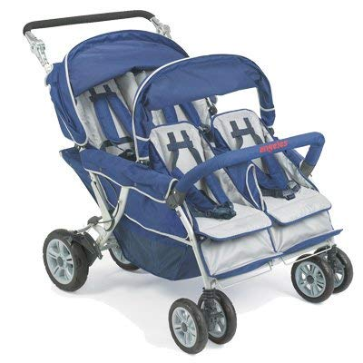 Children's Factory SureStop Folding Commercial Bye-Bye Stroller 4 -