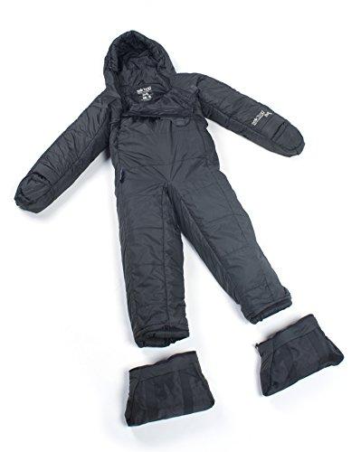 Price comparison product image Selk'bag Adult Lite 5G Wearable Sleeping Bag: Asphalt Grey, X-Large