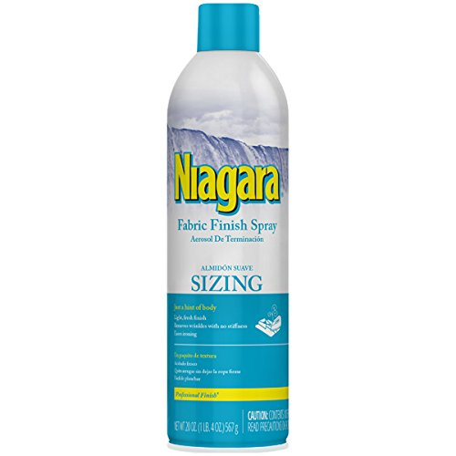 Fabric Finish (NIAGARA Fabric Finish Sizing Spray 20oz 6 Pack)