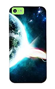 Fashionable Style Case Cover Skin Series For Iphone 5c- Beautiful Planet