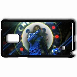 Personalized Samsung Note 4 Cell phone Case/Cover Skin 2013 great demba ba Black