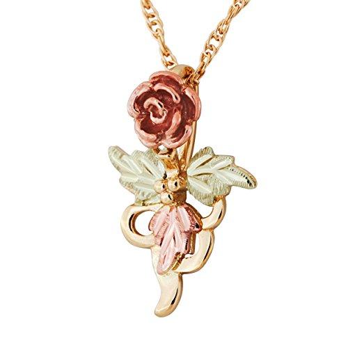 - Black HIlls Gold Rose Pendant