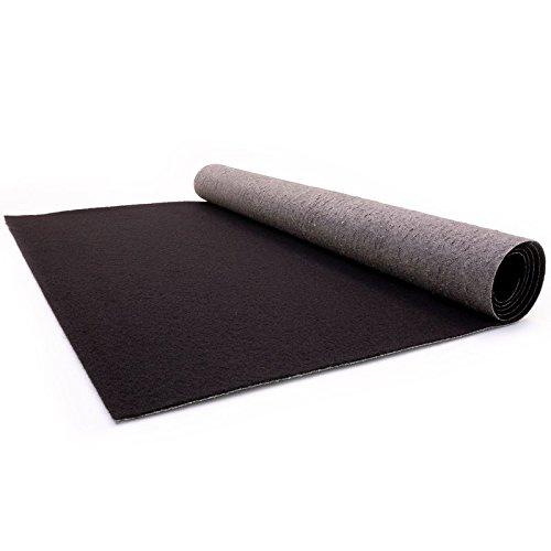 Black Carpet - Wedding Runner - Ceremony Aisle - VIP Carpet - Event Rug - Black Colour - 1m x 1m Primaflor - Ideen in Textil
