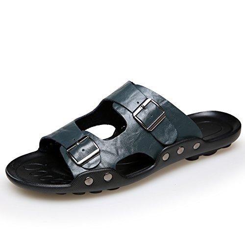 Xing Lin Sandalias De Hombre Zapatillas De Gran Tamaño 50 Hombres Verano Indoor Plus 47 Fertilizante Engrosada Cruz 48 Cool Zapatillas 45 49 Casa Azul 46,45,552 Extra