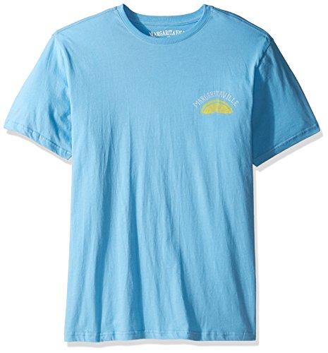 Margaritaville Men's Margarita Time T-Shirt, Joe Blue, L