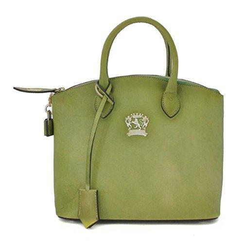 Pratesi Versilia bolsa pequeña - B348/P Bruce (Morado) Verde