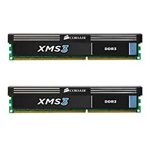 Corsair XMS3 8GB (2x4GB)  DDR3 1600 MHz (PC3 12800) Desktop Memory