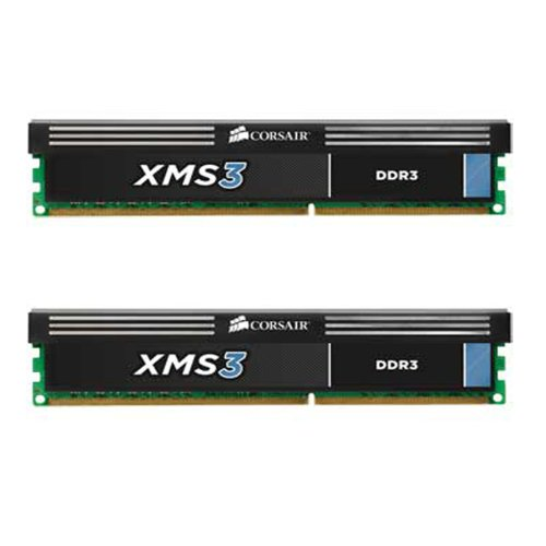 Corsair XMS3 8GB (2x4GB)  DDR3 1600 MHz (PC3 12800) Desktop Memory - Online Ver Series Pt