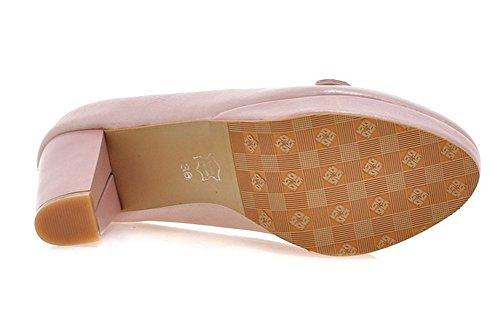 Scarpe Da Donna Eleganti Easemax Tacco Basso Con Plateau E Tacco Alto