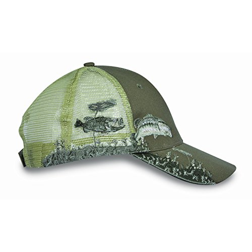 Kc Caps Unisex Hunting Cap Bass Embroidery Baseball Hat