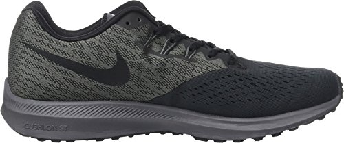 Running Homme Nike anthracite noir grisfonc Zoom De Chaussures Marron 4 Winflo SrUXqwUY