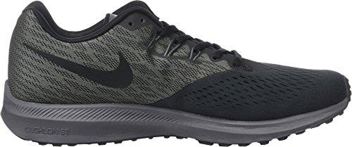 Zoom NIKE Black 4 Running Grey Winflo Shoes Men Black 's Dark Anthracite fUqOUFxEw