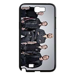 Samsung Galaxy N2 7100 Cell Phone Case Covers Black Eisbrecher O2426375
