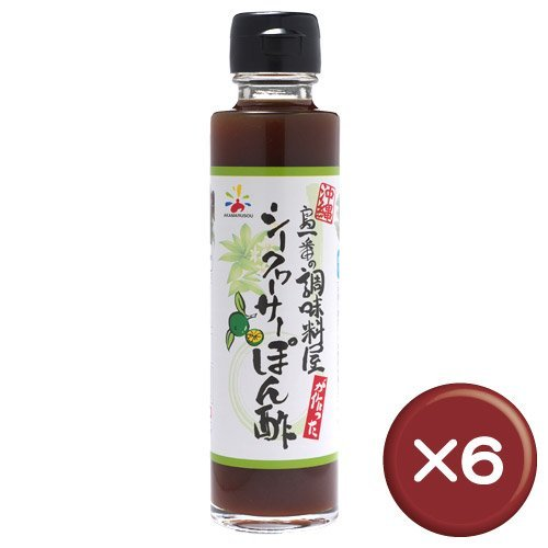 Island best! Citrus depressa Ponzu 150ml 6 pcs set by Red Marusou