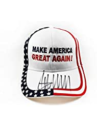 Donald Trump Signed Autographed Make America Great Again Hat 'GA' Certified Authentic COA