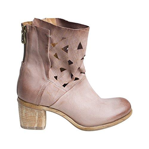 A.S.98 Damen Stiefelette 597203 BA von Farbe Rosa Schuhe Boots Neue Kollektion Frühjahr Sommer