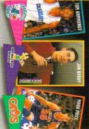 1992 SkyBox School Ties #ST5 Tom Hammonds/Jon Barry/Mark Price Near Mint/Mint ()