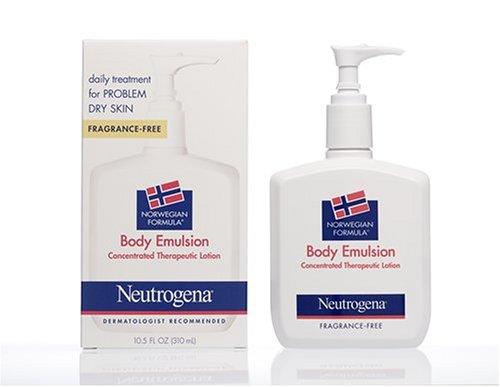 Neutrogena Fragrance-Free Norwegian Formula Body Emulsion In