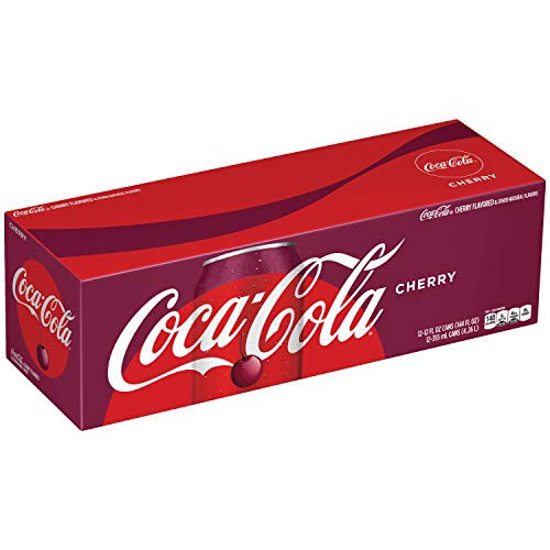 Coca-Cola Cherry Coke Soda, 12 Ounce (12 Cans) (Cola Cherry Coca)