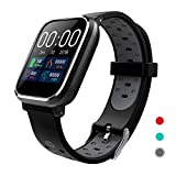 CRATEC W5 Smart Watch Fitness Heart Rate Sleep Monitor Blood Pressure Waterproof Activity