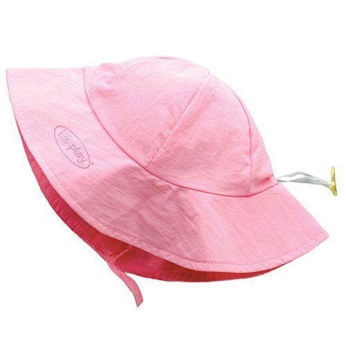 i play. Sold Brim Sun Protection Hat, Light Pink, Infant (6-18 Months) Color: Light Pink Size: Infant / 6-18 Months NewBorn, Kid, Child, Childern, Infant, Baby