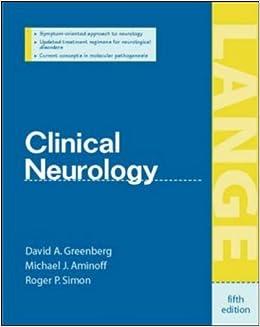 Clinical Neurology (Lange Medical Books)