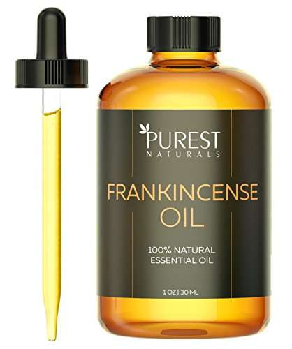 Purest Naturals Frankincense Essential Oil - 100% Pure & Natural Therapeutic Grade - Best Aromatherapy Oil For Diffuser - 30mL 1 Oz