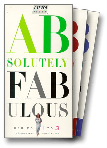 Absolutely Fabulous - Series 1 to 3 [VHS]